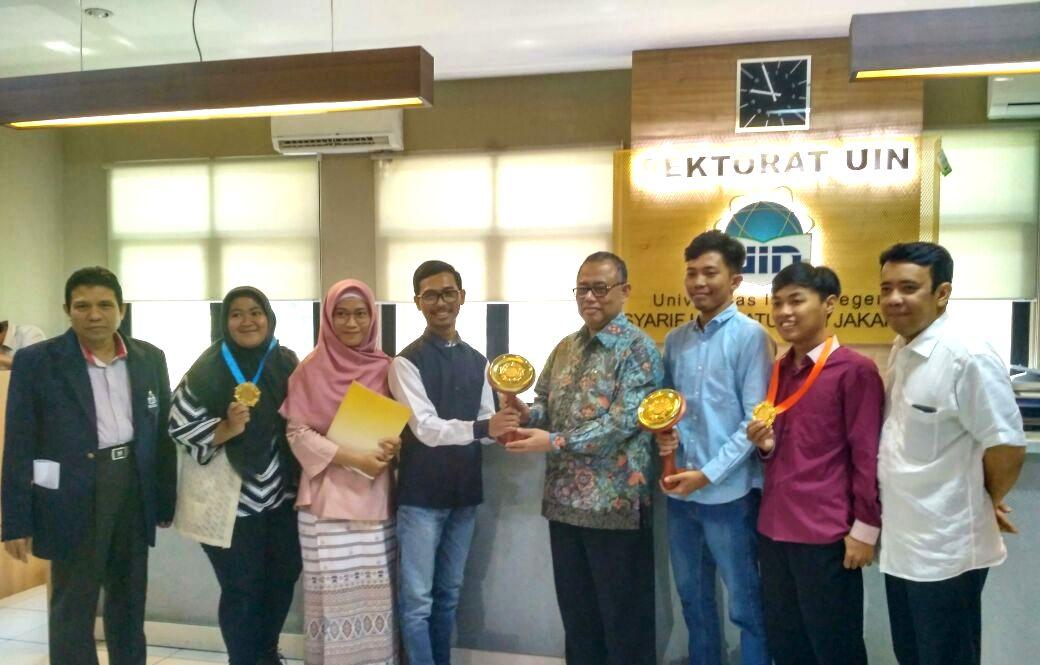Rektor Apresiasi Capaian Tim PSM UIN Jakarta