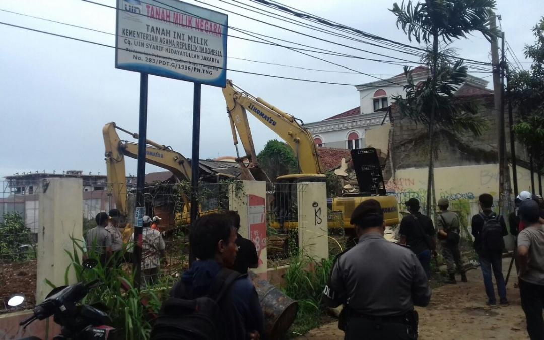 UIN Jakarta Berhasil Eksekusi Lahan di Pisangan