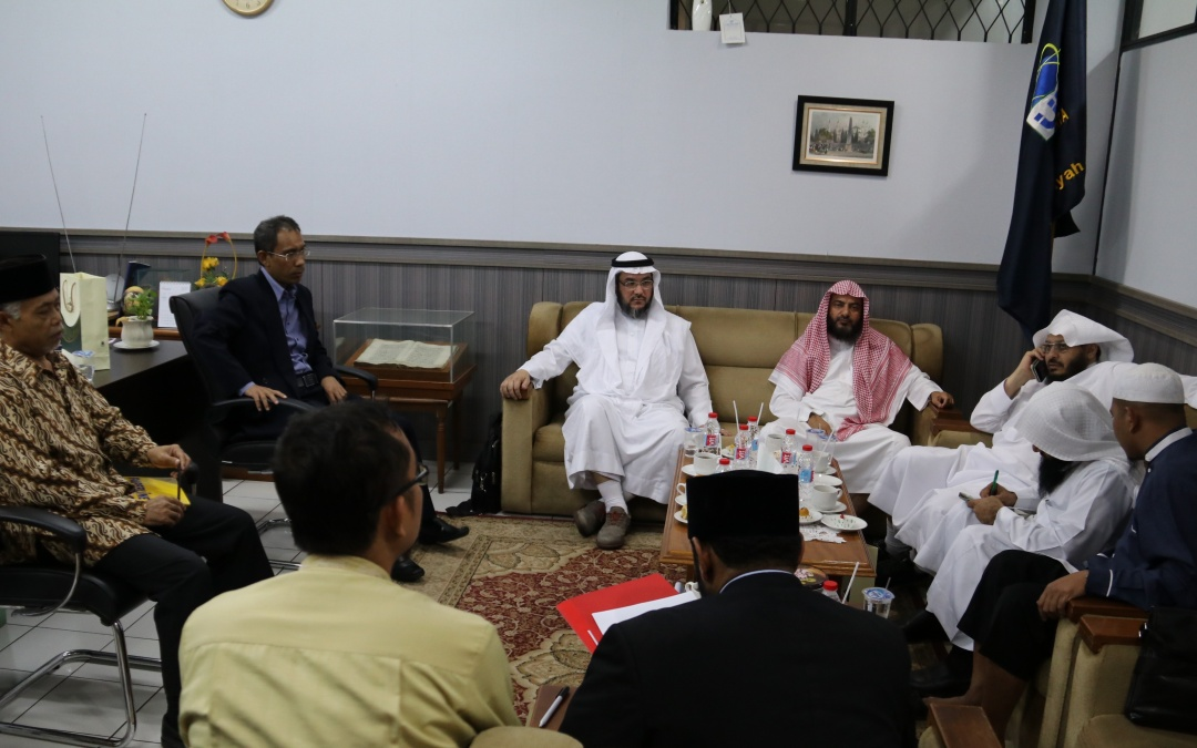 FDI UIN Jakarta Received Visits from Umm Al-Qura University