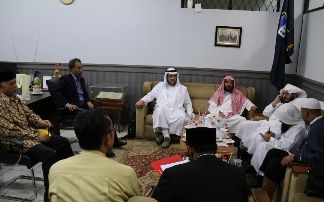 FDI UIN Jakarta Received Visits from Umm Al-Qura University