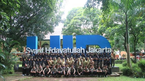 Ratusan Pelajar SMA PUI Cirebon Kunjungi UIN Jakarta