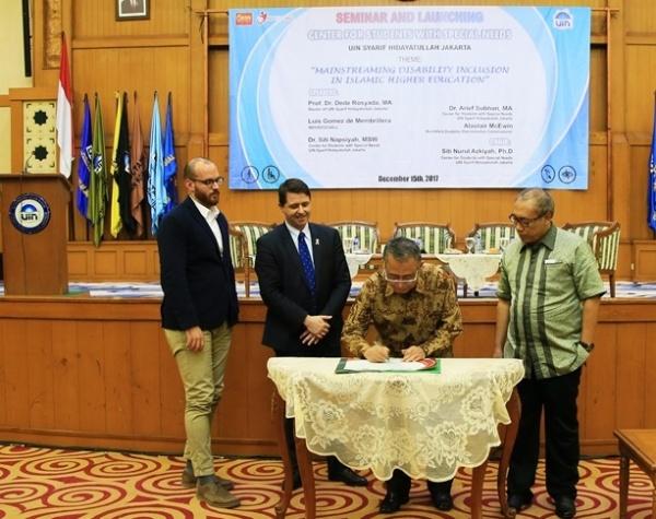 UIN Jakarta Luncurkan Pusat Kajian dan Layanan Mahasiswa Berkebutuhan Khusus