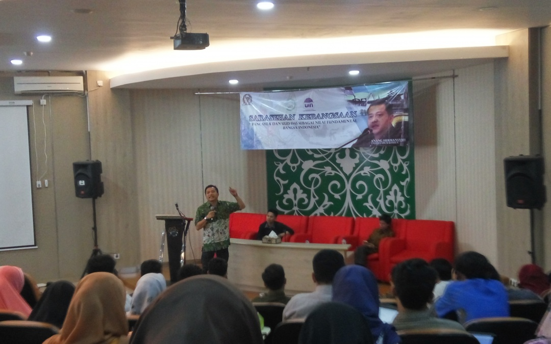 Anang: Teachers Have Responsibilites in Teaching the Philosophy of Pancasila and the 1945 Constitution