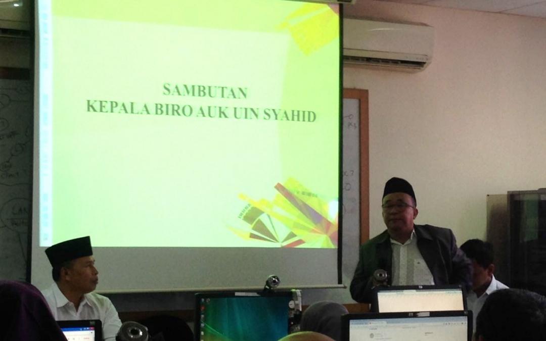 UIN Jakarta Holds Training on Official Letter Governance