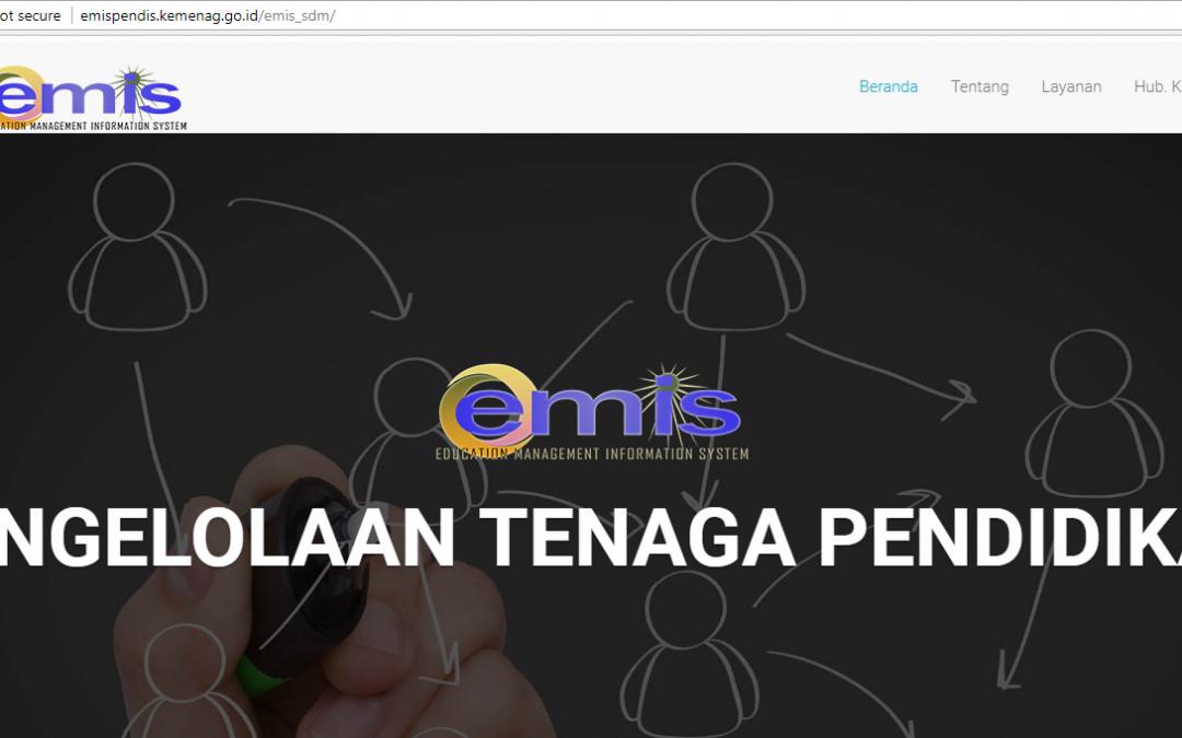 Kemenag Wajibkan Tenaga Pendidik Lakukan Pemutakhiran Data EMIS Semester Ganjil 2017/2018