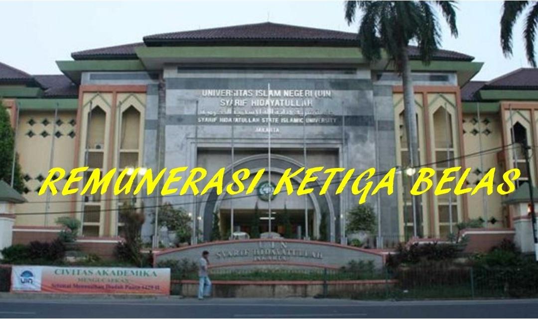 UIN Jakarta Bayarkan Remunerasi Ketiga Belas
