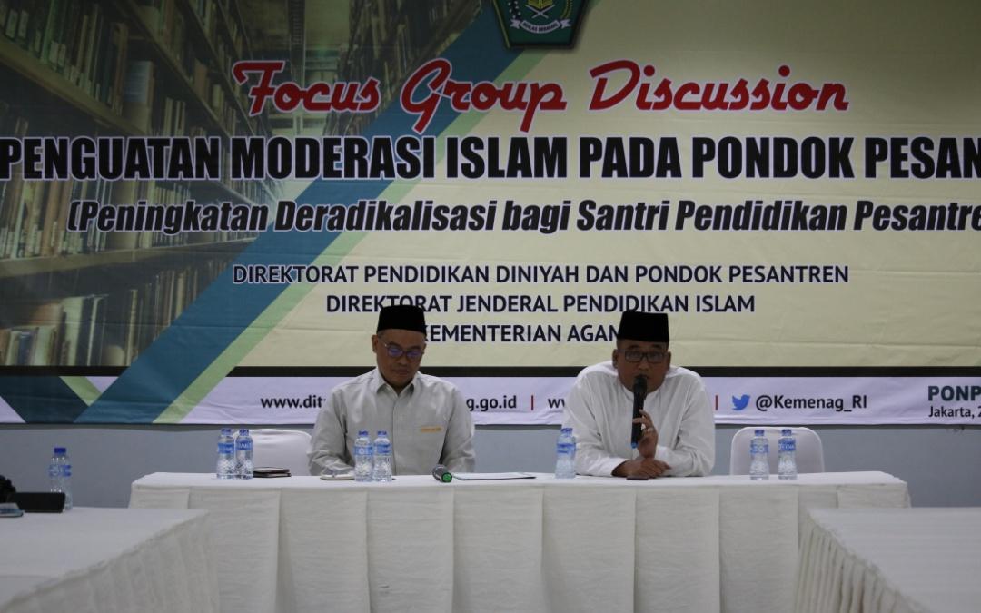 Kiai Pesantren Bedah Penguatan Pondok dalam FGD