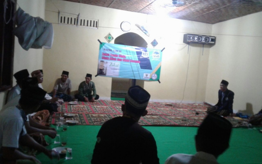 BPI Students Hold Zakat Counseling for Lampung Residents