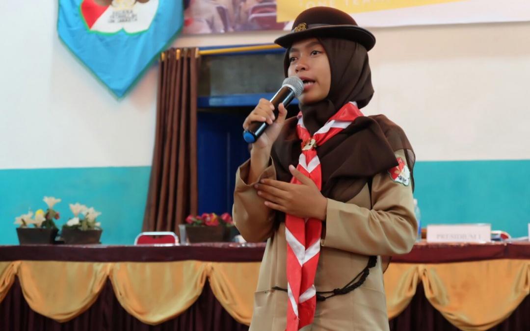 Pramuka UIN Jakarta Tetapkan Ketua Baru