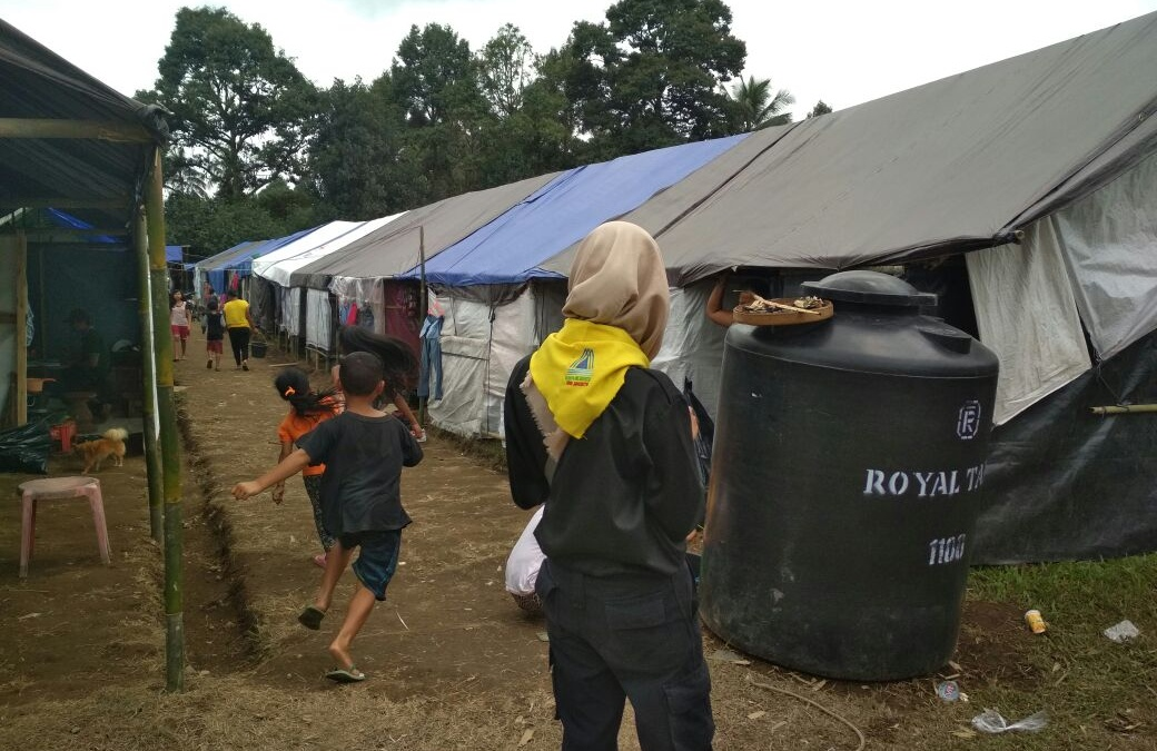 Relawan RANITA Jangkau Daerah Bencana