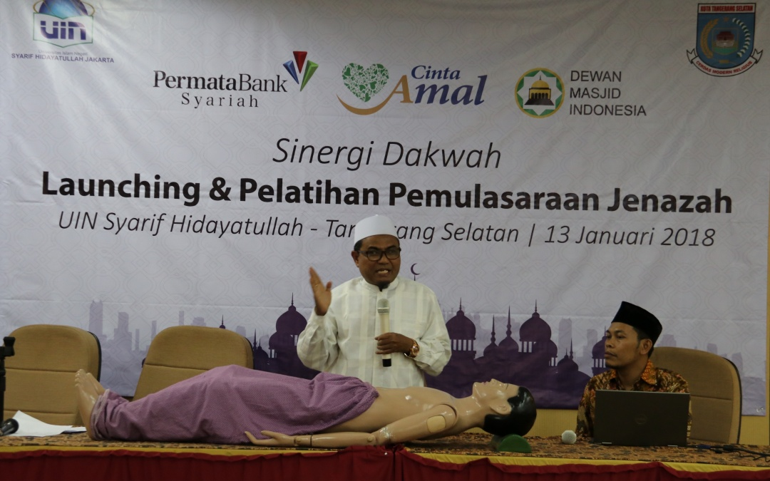 FDI UIN Jakarta Organize Training on Post Mortem Care Procedures