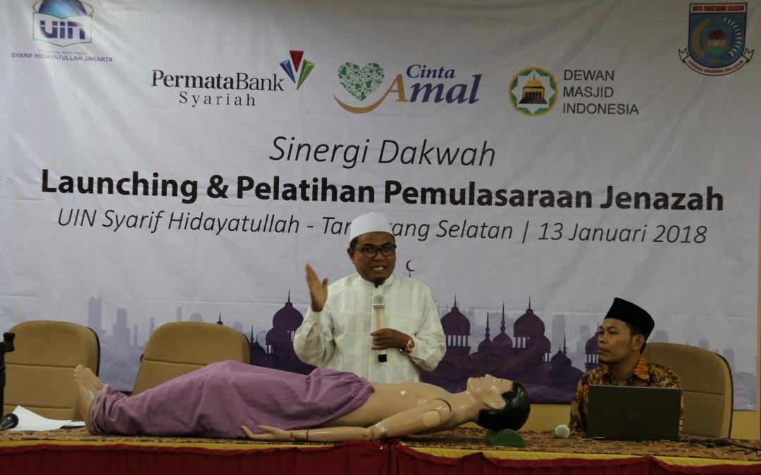 FDI UIN Jakarta Organize Training on Post Mortem Care Procedures