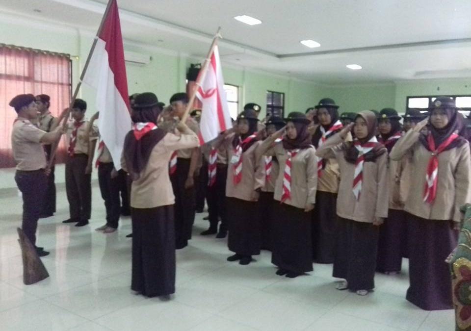 Gerakan Pramuka UIN Jakarta Gelar Orientasi Anggota Baru