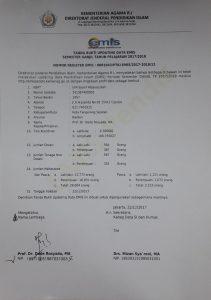 Pendataan EMIS 2017-2018 UIN Jakarta Rampung
