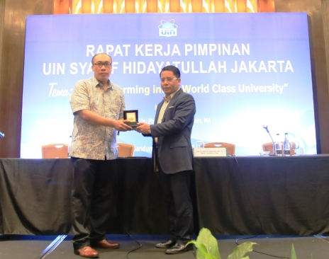 Kemenag Encourage the Internationalization of UIN Jakarta
