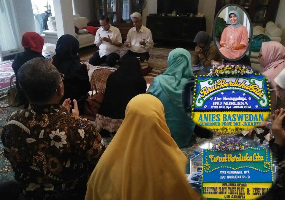 Mantan Dekan FITK UIN Jakarta Berpulang