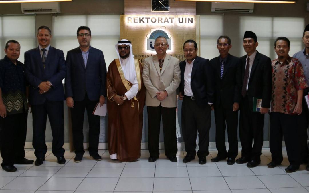 President of International Islamic University, Islamabad Visit UIN Jakarta