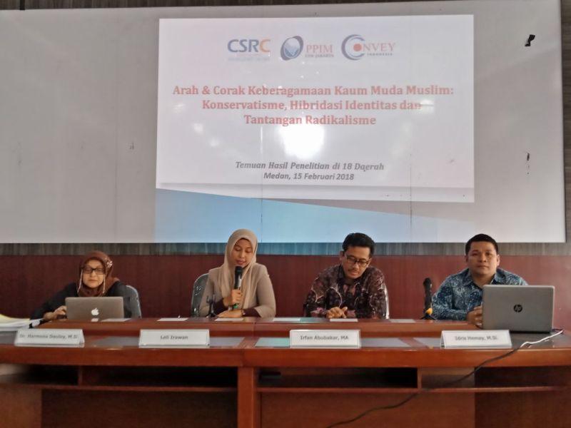 CSRC UIN Jakarta Gelar Sosialisasi Penelitian di Medan