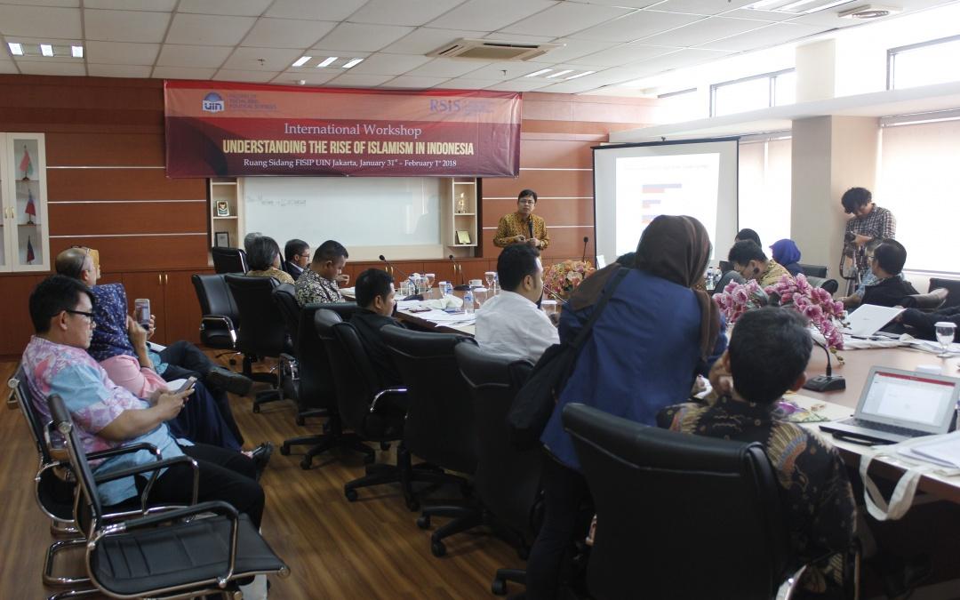 FISIP dan RSHS Singapore Gelar Diskusi International