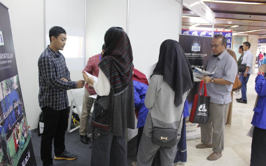Pameran Pendidikan BTA, Stand UIN Jakarta Banjir Pengunjung