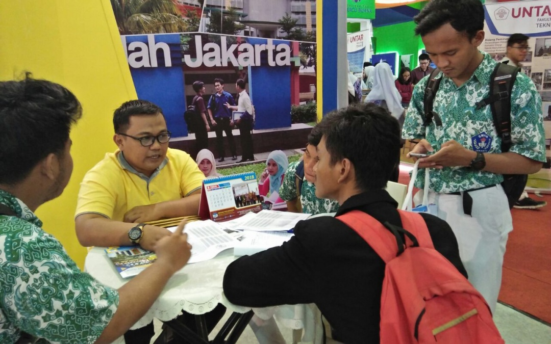 UIN Jakarta Booth at International Education Exhibition 2018 is Now Open