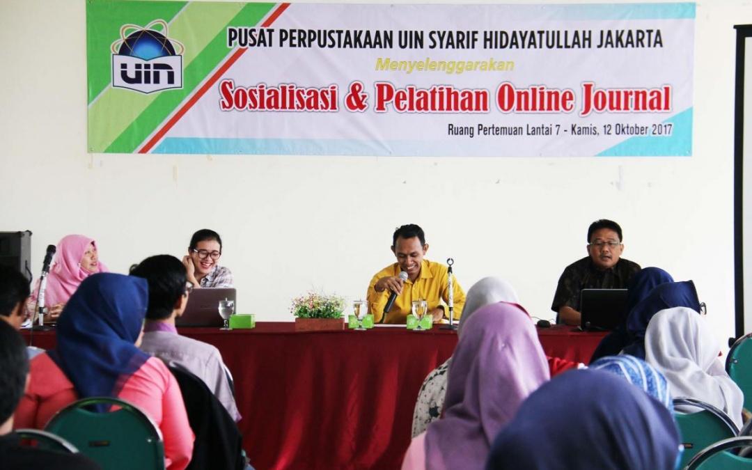 Perpus Pusat UIN Jakarta Langgan Perangkat Lunak Plagiasi Turnitin
