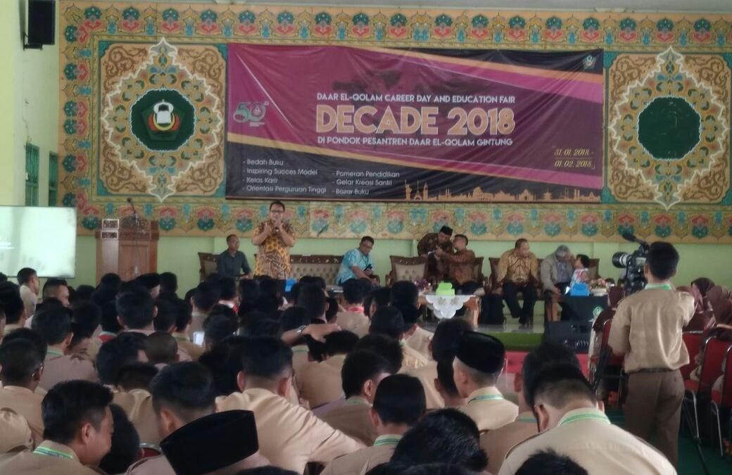 UIN Jakarta Held Socialization at Daar el-Qolam