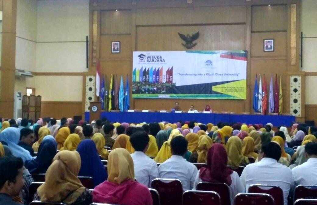 Calon Sarjana Ikuti Gladi Resik Wisuda Ke-107