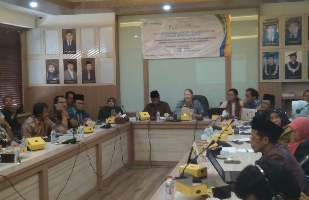 FHS-AIPJ Holds FGD on Islamic Family Law