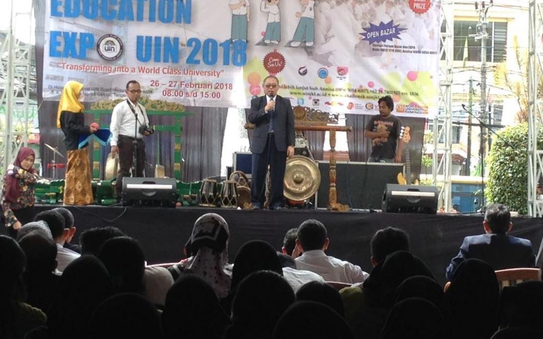 Education Expo 2018 UIN Jakarta Resmi Dibuka
