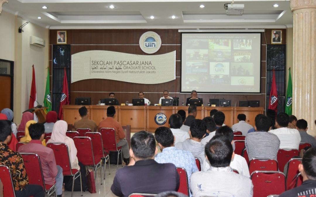 56 Mahasiwa Baru SPs UIN Jakarta Ikuti Orientasi Studi