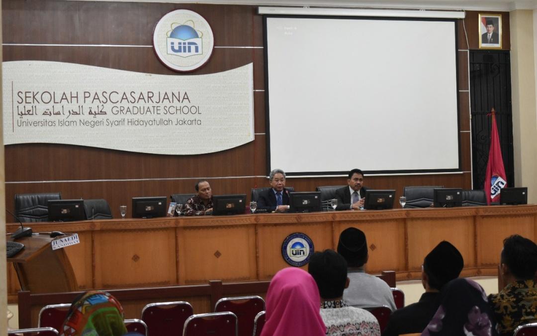 Direktur SPs UIN Jakarta Tutup Orientasi Mahasiswa Baru