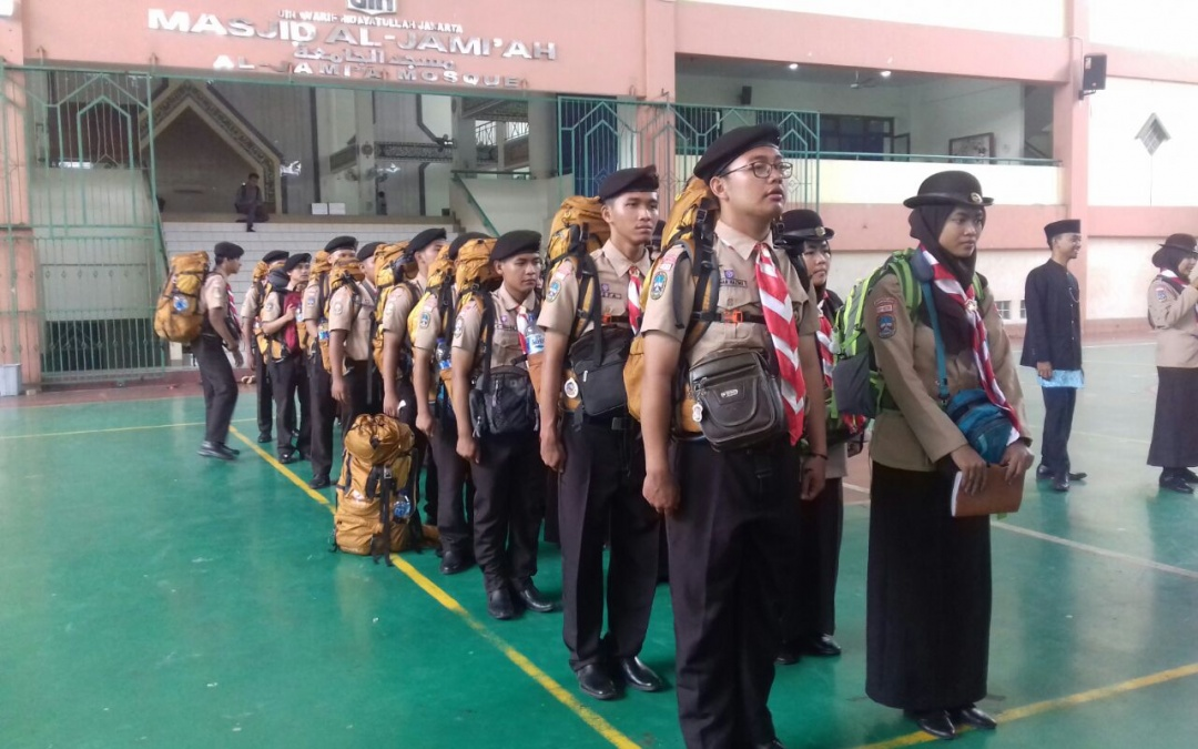 Pramuka UIN Jakarta Studi Riset ke Lampung