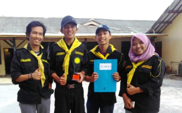 Ranita UIN Jakarta Won the Cross-country Competition
