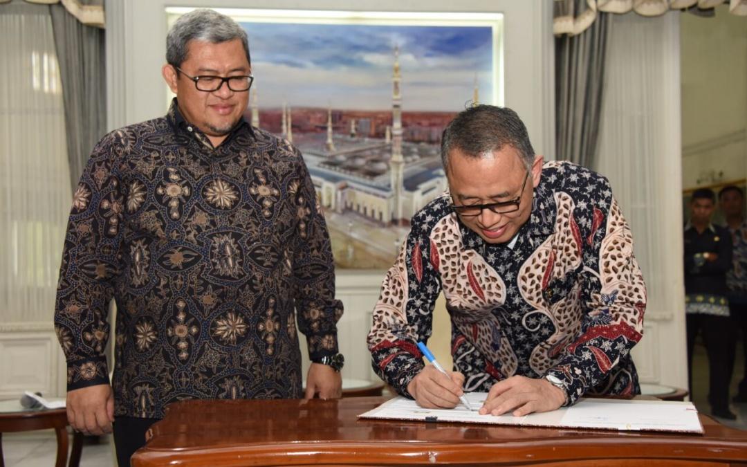 Pemprov Jabar Hibahkan Dua Hektar Tanah ke UIN Jakarta