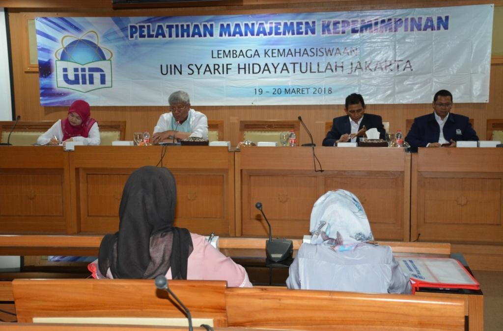 Bagian Kemahasiswaan Gelar Workshop Manajemen Kepemimpinan