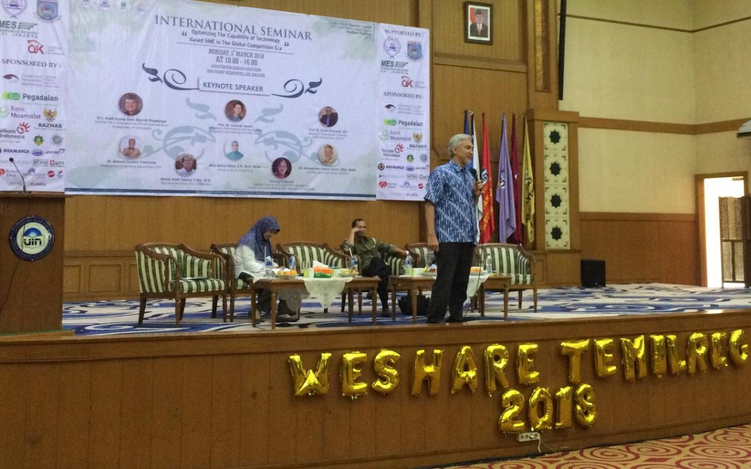 FEB UIN Jakarta Fasilitasi Kegiatan Tahunan FOSSEI