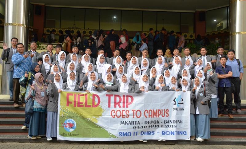 Siswa SMA IT Bontang Kunjungi UIN Jakarta