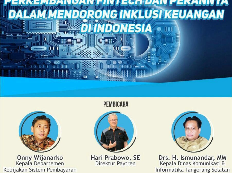 DEMA FEB UIN Jakarta will Organize Studium Generale on Financial Technology