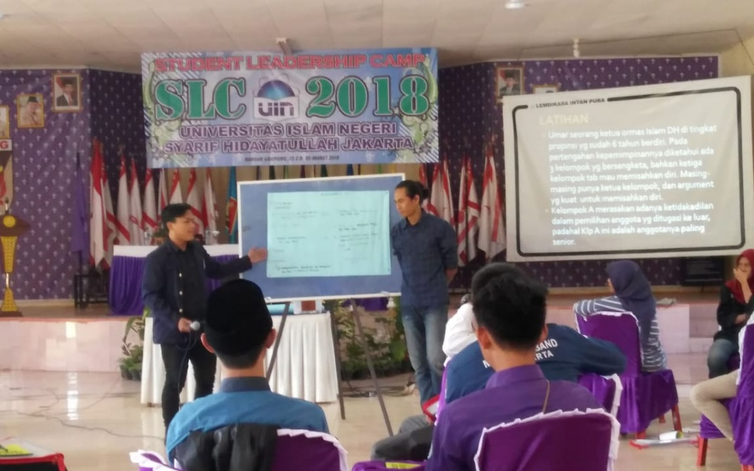UIN Jakarta Students Participate in Student Leadership Camp