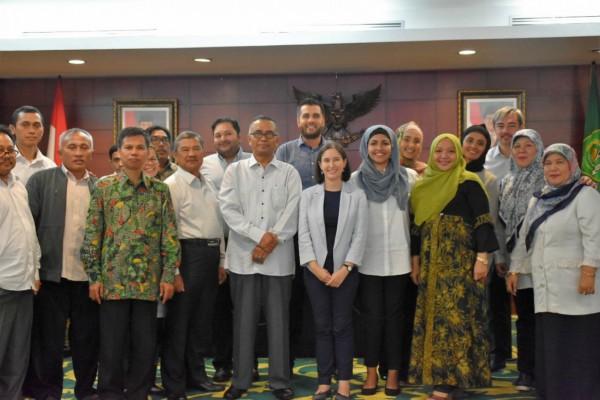 Tokoh Muda Muslim Australia Berkunjung ke Kemenag