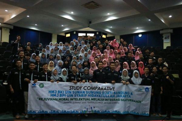 HMJ BKI UIN Bandung Lakukan Studi Banding ke UIN Jakarta