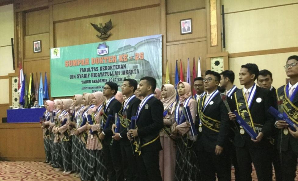 Dokter PBSB Kemenag Menjadi Lulusan Terbaik UIN Jakarta