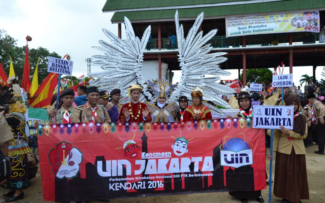Pramuka UIN Jakarta Siap Ikut PW PTKIN di Riau
