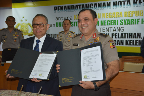 UIN Jakarta-Polri Signed Cooperation Agreement