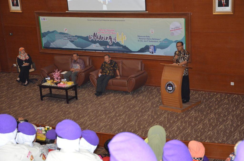 Fakultas Psikologi Gelar Seminar Nasional dan Peluncuran Buku