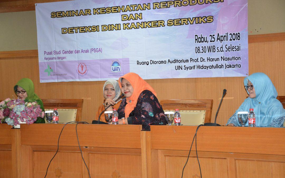 Demi Kualitas Hidup Perempuan, PSGA UIN Jakarta Menyelenggarakan Seminar