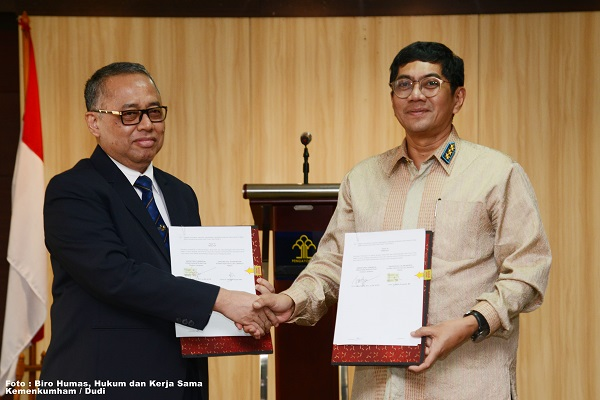 UIN Jakarta-Directorate General of Intellectual Property Signed Cooperation Agreement