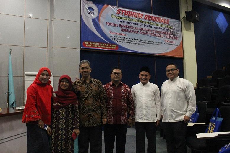 FU UIN Jakarta Holds Studium Generale on Quranic Tahfiz