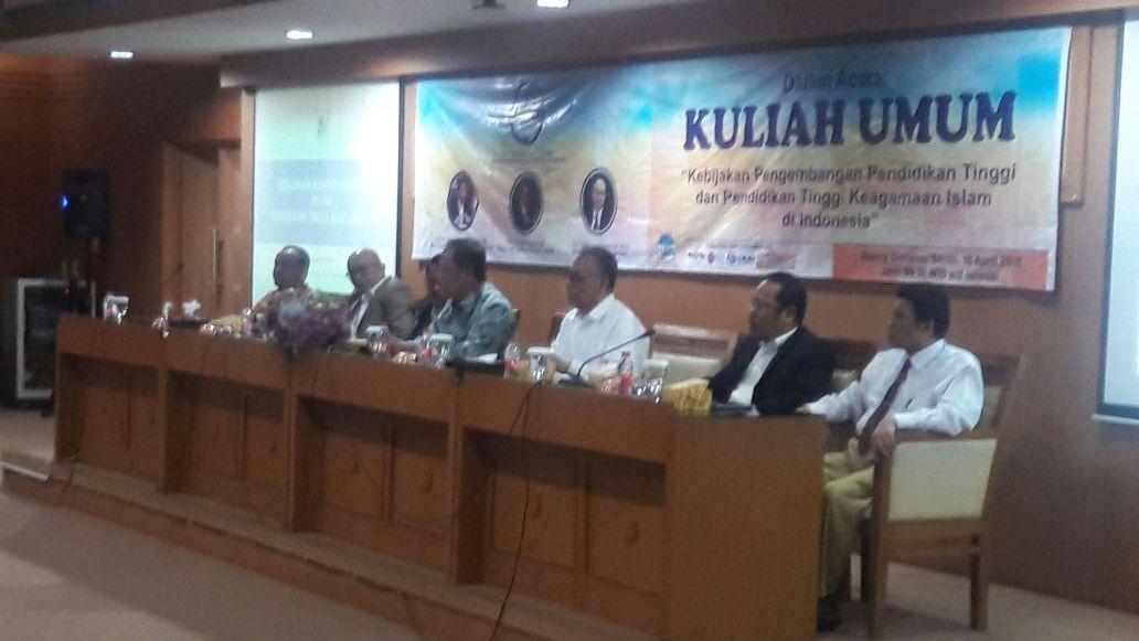 Menristekdikti Beri Kuliah Umum di UIN Jakarta